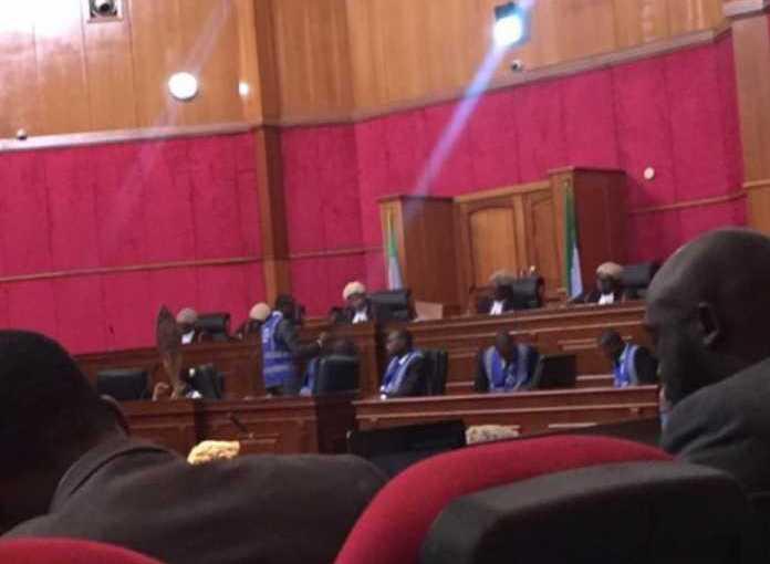 Atiku Vs Buhari: Lawyers arrives Court ofAppeal