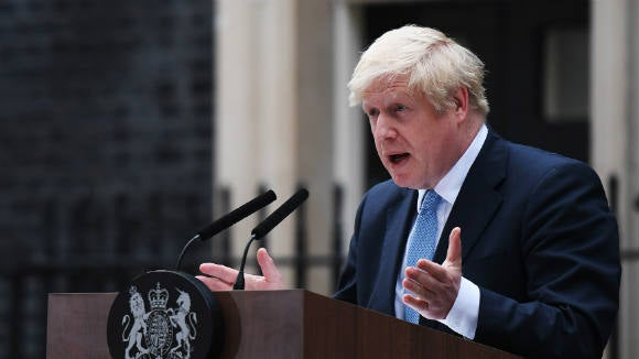 """I'd rather be dead in a ditch"" than delay UK's exit from the European Union beyond October 2019 – UK Prime Minister, Boris Johnson"