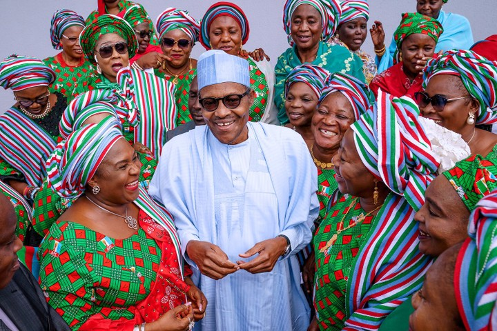 Why i placed women in the financial sector – Buhari