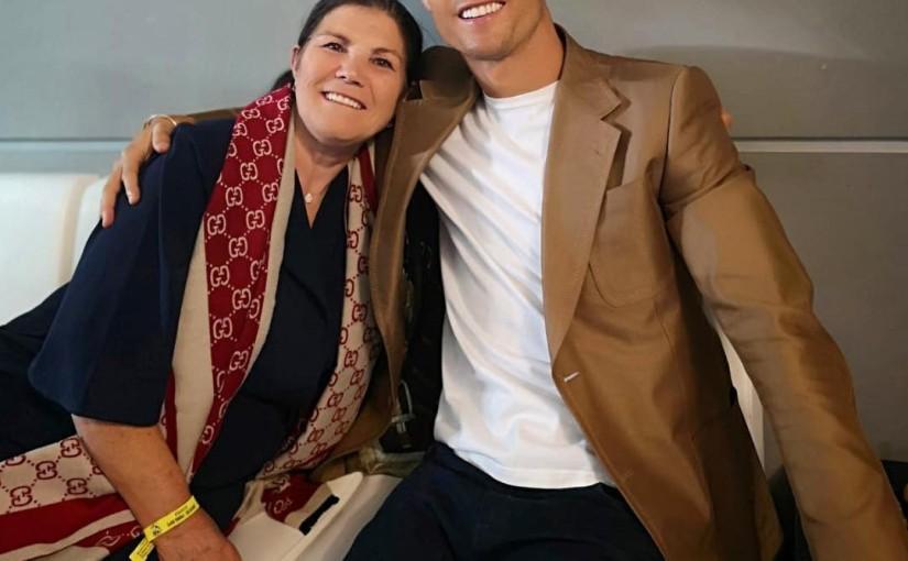 I banned my mum from watching football matches – CristianoRonaldo