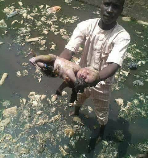 20-year-old man throws his 4-Month-Old Son Into River Uti In Niger State