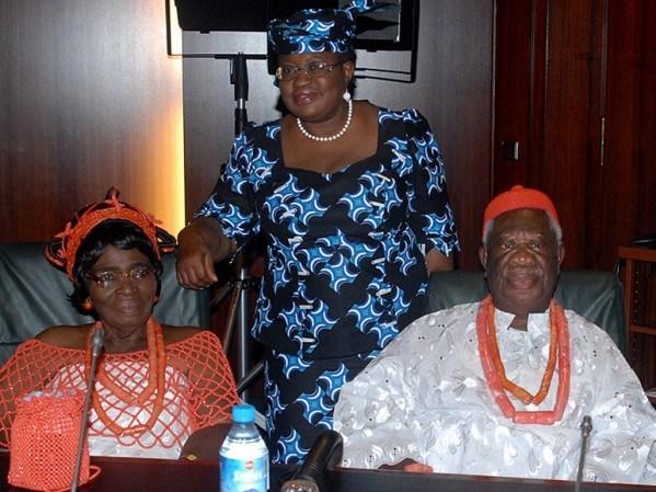 Ngozi Okonjo-Iweala's FatherDies