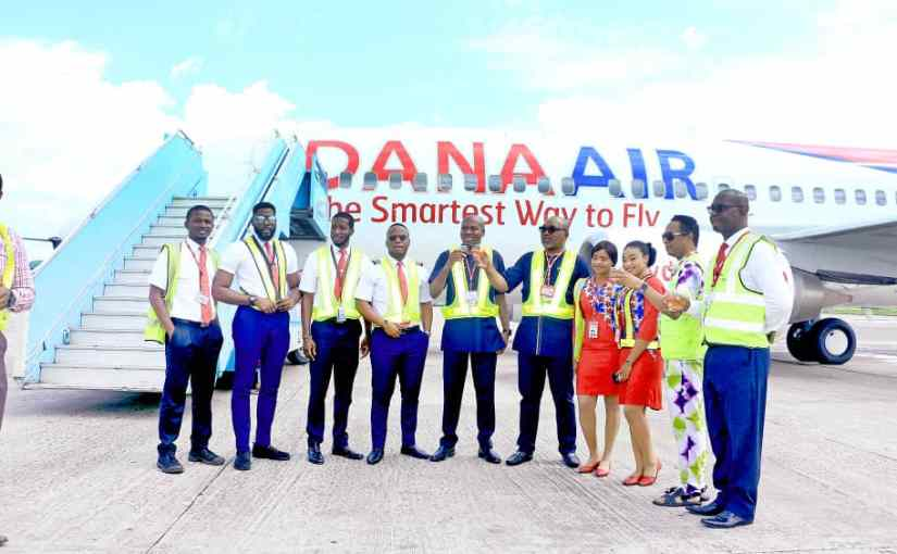 Dana Air It's First Boeing 737 Aircraft