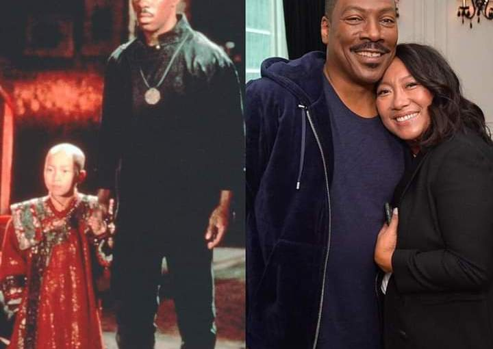 Eddie Murphy reunites with the Golden Child 32 years after themovie