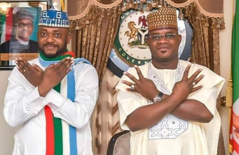 Kogi Governor Yahaya Bello Picks Edward Onoja As Running Mate For November 16 governorshipelection
