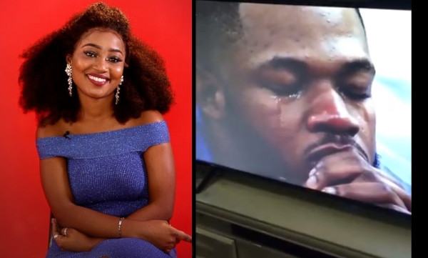 BBNaija Housemate Esther evicted from the Big Brother House, Frodd cries bitterly (video)