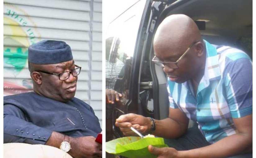 I Don't Eat Booli And Agbado on the street like Fayose –Fayemi