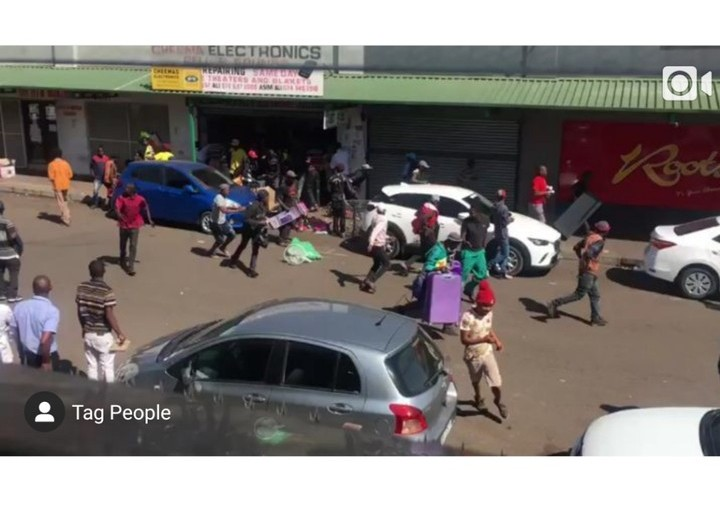 Xenophobia: South Africans Fights Pakistanis, Destroys Their Shops(Video)