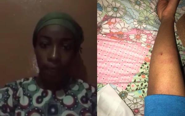 Former Guinean Muslim, Grace Koulibaly raises alarm after fleeing to Nigeria(video)