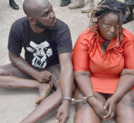 Lovers who stole N38 million health insurance funds and fled to Ghana,Arrested