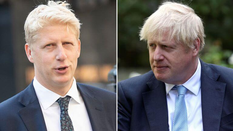 Mr Jo Johnson, brother to British PM Boris Johnson Resigns