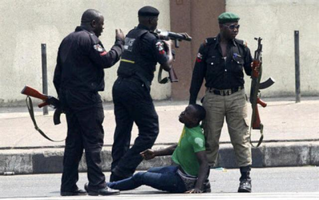 Policemen Arrests Suspected Portharcourt hotel serialkillers