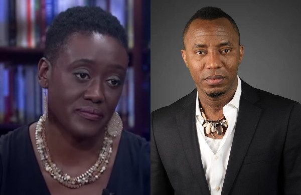 Buhari has no grounds to detain my husband – Sowore's wife, Opeyemi