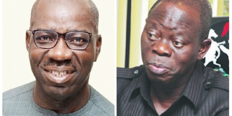 Gov. Obaseki Sacked The Only Commissioner I Nominated In His Cabinet – Oshiomhole