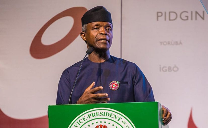 Buhari will deliver 10 million Nigerians out of poverty in the next 10 years –Osinbajo
