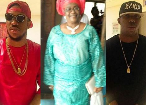 Nigerian singers and brothers Skuki announce the death of theirmum