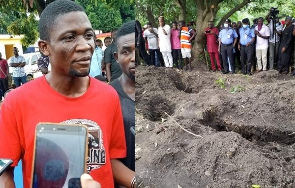 """The 'Queen Mother' who is a spirit told me to kill 20 people before i can have powers to appear and disappear"""" – Suspect arrested over mass grave inBenue"""