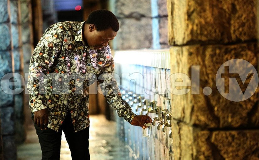 Another Cultist Vomits 'Demonic Cowries' At TB Joshua's Church!!! (photos&video)