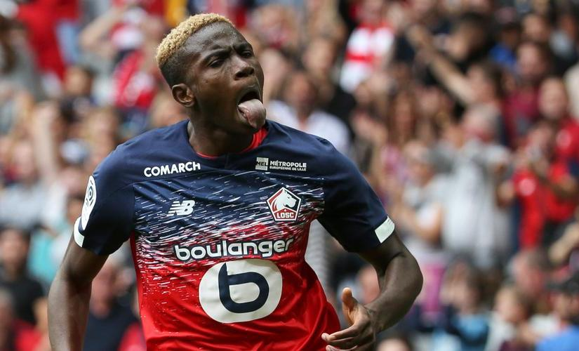 Victor Osimhen, Named Lille Player Of The Month Award Winner