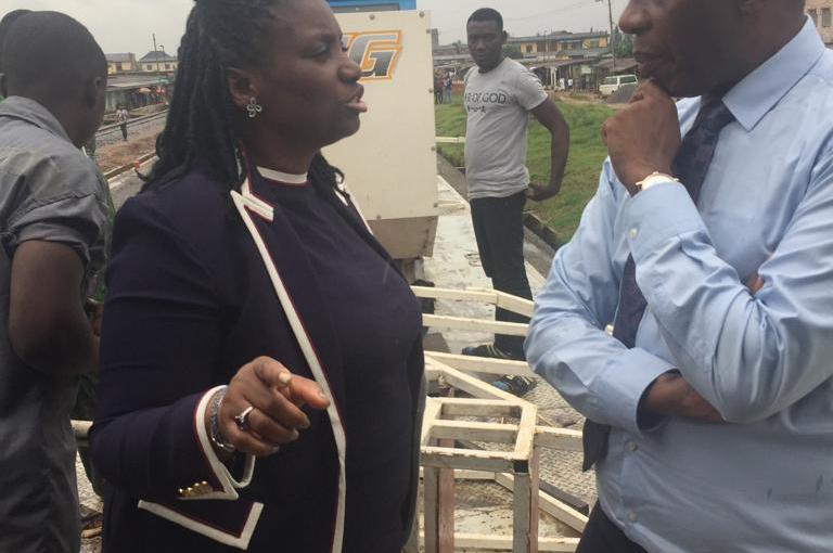 What my Wife saw during the Lagos-Ibadan Rail Project inspection-Amaechi