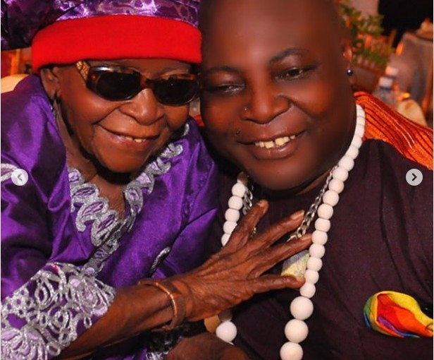 Charly Boy loses hismother