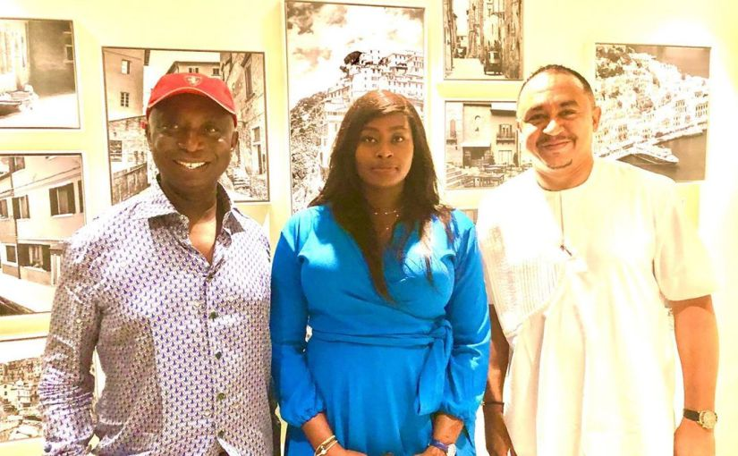 Am very stubborn that's why i married a man older than me – Daddy Freeze, Interviews Regina Daniels, Ned Nwoko And Hushpuppi In Dubai (Video,Photos)