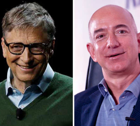 Jeff Bezos loses his world's richest man position to Bill Gates