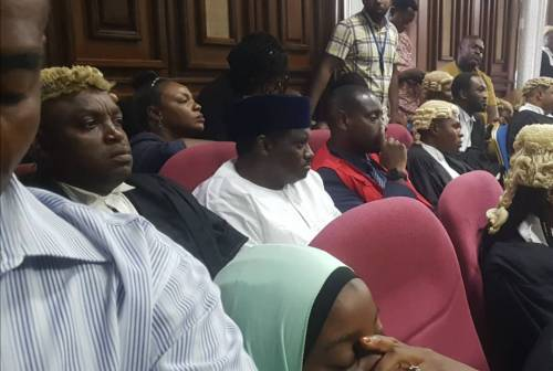 Trouble In Court, As Judge Warns Maina To Stop Looking AtHim