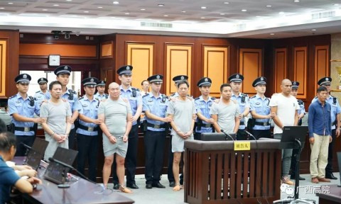 Six men jailed in China for not carrying out a killingcontract