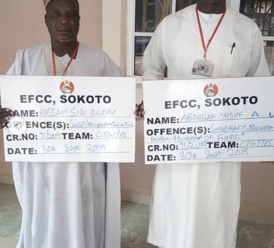 EFCC Arrests Four Zamfara INEC Officials (Photo)
