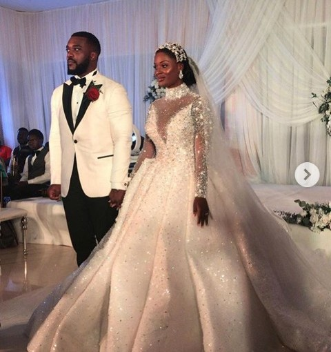 Sir Emeka Offor's daughter Njideka Offor weds in Lagos (photos)