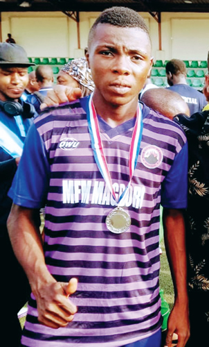 My son was unjustly dropped from the Golden Eaglets squad, for Abba Abichi, DSS DG's Son –  Ese Udoko Cries