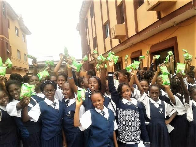 FG starts the distribution of Sanitary Pads In Schools