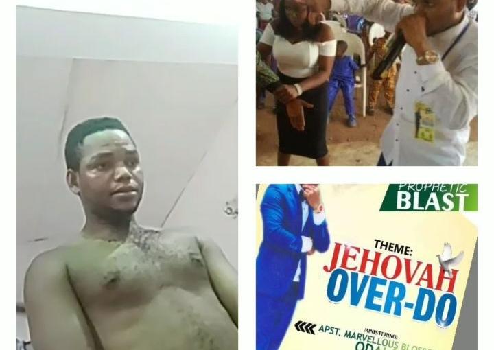Edo pastor, Eranto Eranto who impregnated his 15 year old church member, finallyarrested