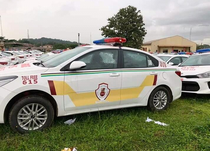 Governor Seyi Makinde Buys 100 New Police PatrolCars