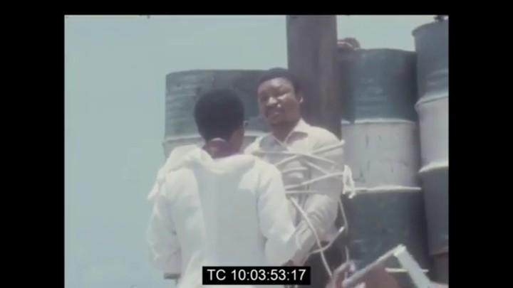 1972 Armed robber executed at Lagos Beach Lagos (graphicphotos\Video)