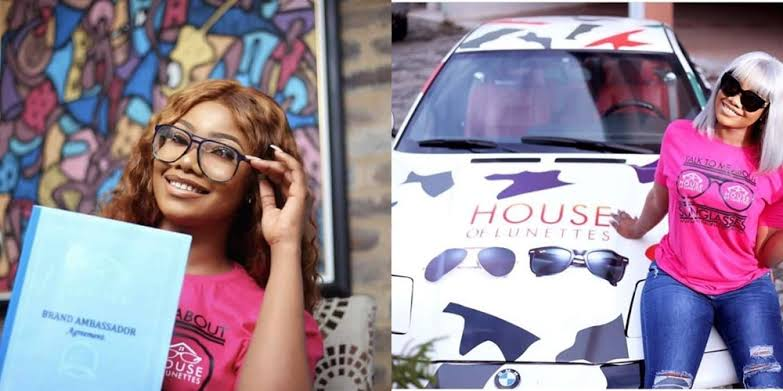 Ex BBnaija Housemate, Tacha Becomes Lunettes Glasses Ambassador, 1500 Glasses Sold In 2 Hrs