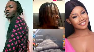 The exposed secret chat that sparked Tacha And Naira Marley's dating rumor