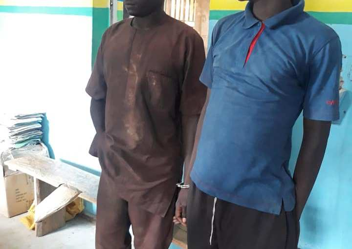 Fish Thieves Arrested For Stealing Fishes Worth Over N3M (Photos)