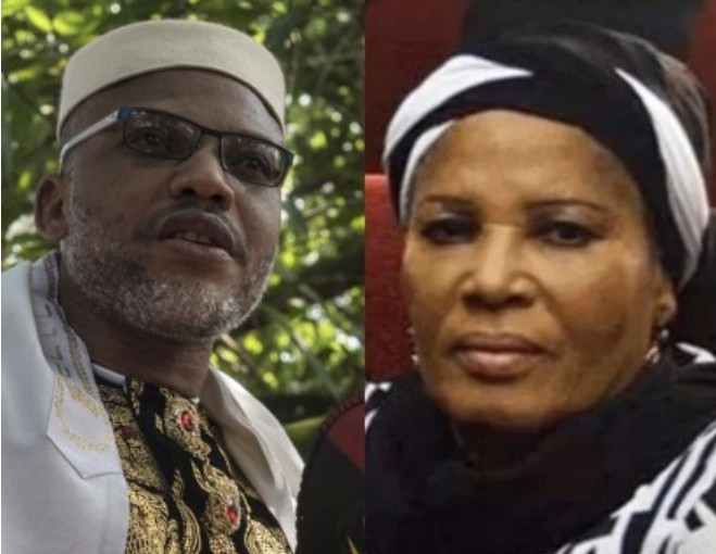 Nnamdi Kanu Mother's Death: IPOB leader Nnamdi Kanu blamesFG