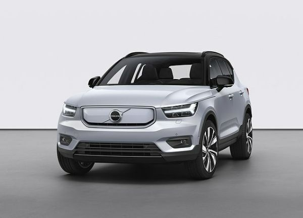 Volvo Launches Volvo XC40 Recharge SUV, First Electric Car