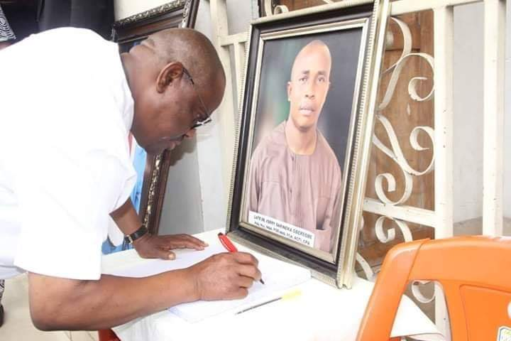 Governor Wike Redeems N200m he Pledged To Late Dr Ferry Gberegbe's Family