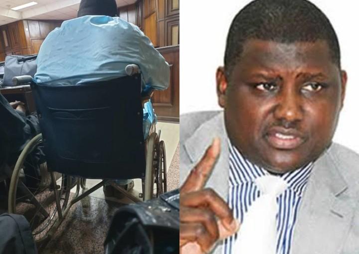 Judge Overlooks Maina's Drama As He Bleeds InCourt