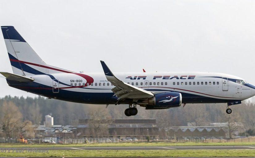 Air Peace Aircraft develops engine failure onair