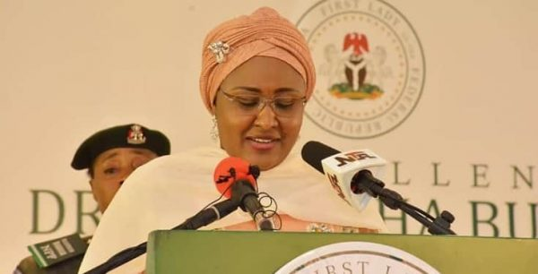 Things are getting out of hand in this country – Aisha Buhari