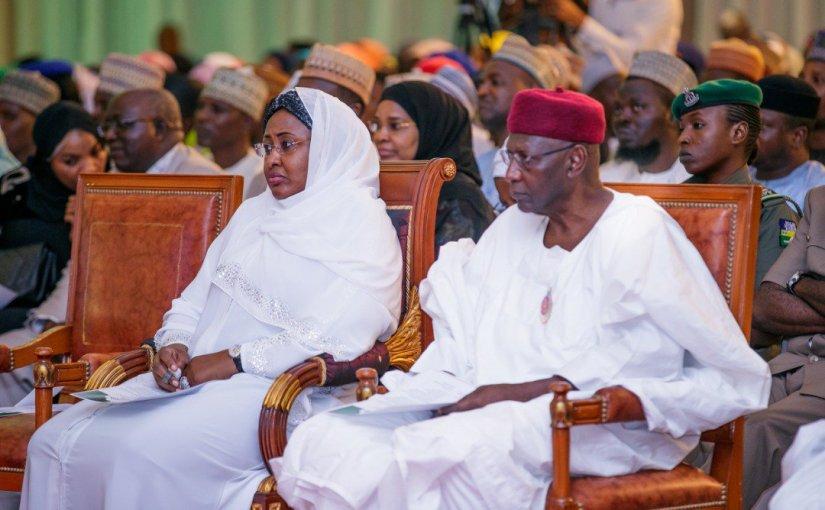 Aisha Buhari Holds Prayer For Nigeria In Aso Rock(Photos)