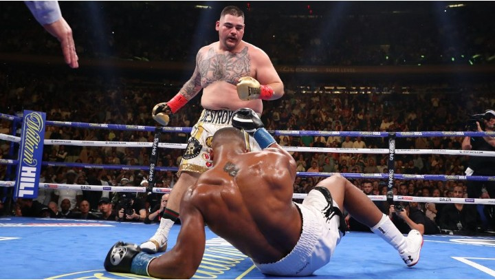 Andy Ruiz Jr apologizes to Anthony Joshua For beating him