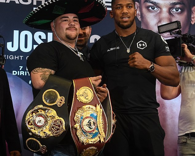 'I Want Everybody To Bow To Me When I Beat Andy Ruiz' – Anthony Joshua