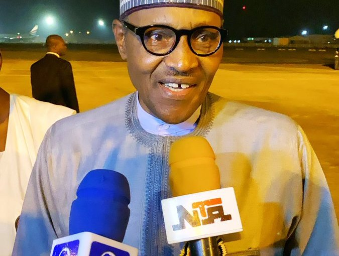 Buhari Arrives Nigeria After 15 Day Private Holiday In London