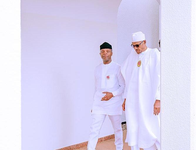 Buhari and Osinbajo attends Senior Executive Course Of NIPSS,Kuru